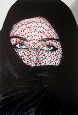 shirin neshat-43941387bd90d4977587b8ed2e10da7b--iranian-art-art-photography