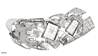 Plan Courtesy of Frank Gehry Partners