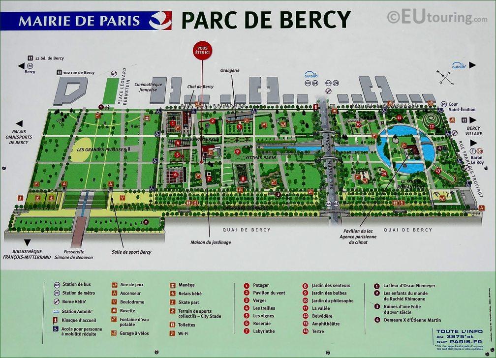 Parc de Berci - Plan