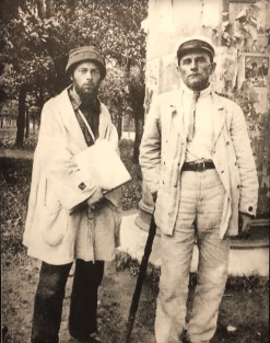 Lissitzky and Malevich, 1920