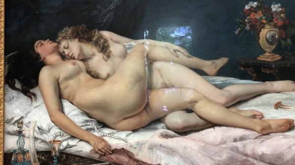 Gustave Coubet, The Sleepers (1866) Petit Palais