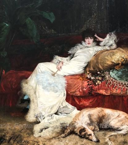 Gerges Clarin, Sarah Bernhardt Portrait (1888) Petit Palais