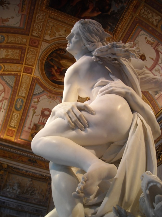 Bernini's The Rape of Prosperina