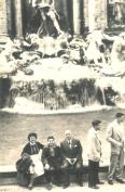 The Maghidovich - Trevi Fountain, 1956