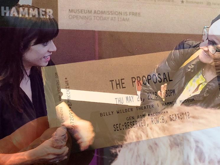 Gill Magid screening at the Hammer Museum