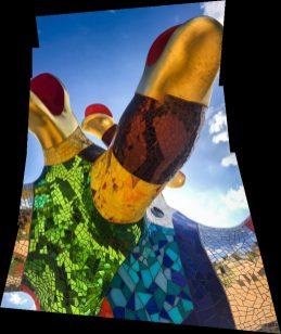 Niki de Saint Phalle - Serpent Tree Detail