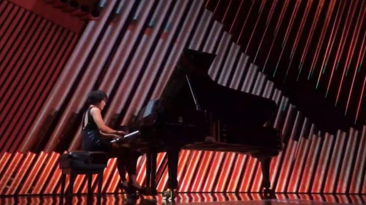 Yuja Wang performing at the Kennedy Center Honors 2019