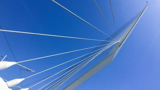 Chords Bridge, Jerusalem. Architect: Santiago Calatrava