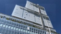 Paris Courthouse. Architect: Renzo Piano Building Workshop