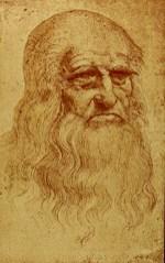 Leonardo's self-portrait at 50, 1512