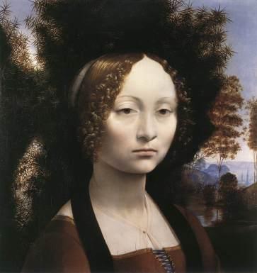 Ginevra de' Benci - c. 1478
