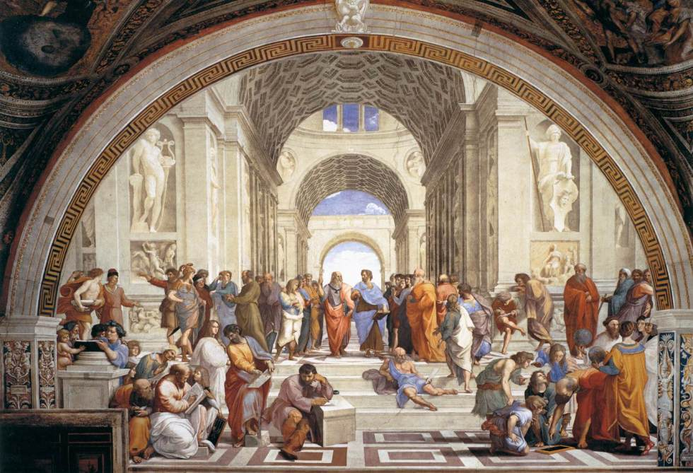 Raphael's School of Athens, 1509-1511