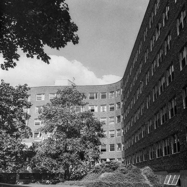 MIT Bakery House Dormitory, 1948. Architect: Alvar Aalto. Photo: R&R Meghiddo.