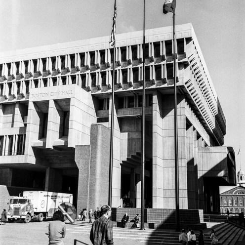 Boston City Hall, 1968. Architect: Kallmann, McKinnell & Knoweles. Photo: R&R Meghiddo