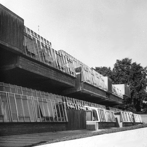 Pimlico School, 1970. Architect: John Bancroft. Photo: R&R Meghiddo.