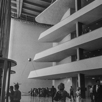 UN Building, 1952. Architect: Wallace harrison, Le Corbusier, Oscar Niemeyer. Photo: R&R Meghiddo.