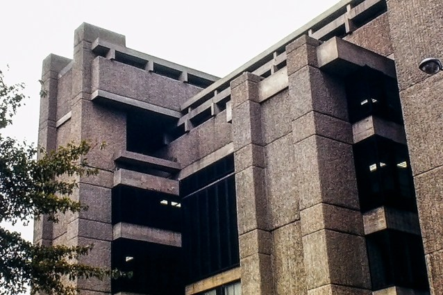 Yale Art and Architecture Building , 1963. Architect: Paul Rudolph. Photo: R&R Meghiddo.