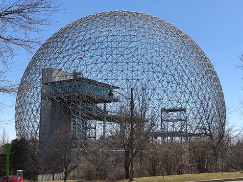 Biosphere Dome, 2018. Photo: R&R Meghiddo.