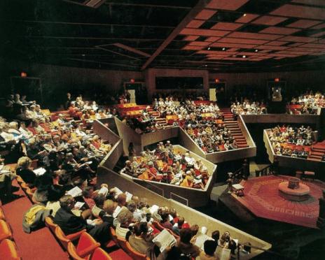 Mummers Theater, Interior.