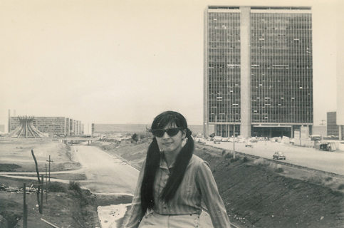 Brasilia under construction - © R&R Meghiddo 1967 – All Rights Reserved