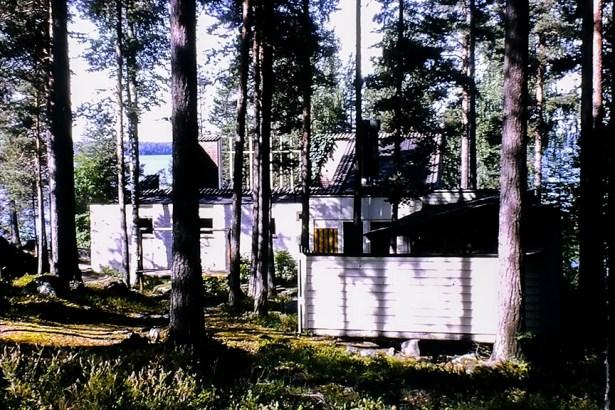 Muuratsalo Island - Experimental House, 1949.Architect: Alvar Aalto - © R&R Meghiddo 1968 – All Rights