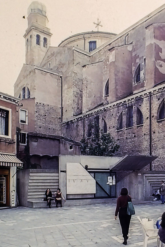 Venice - School of Architecture, Entrance Gate - © R&R Meghiddo, 1996. All Rights Reserved.