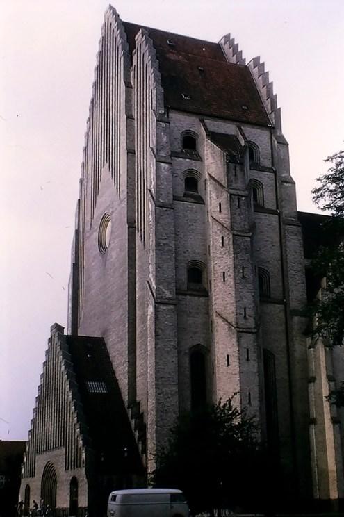 Copenhagen - Grundtvig Church, 1926 - © R&R Meghiddo 1968 – All Rights