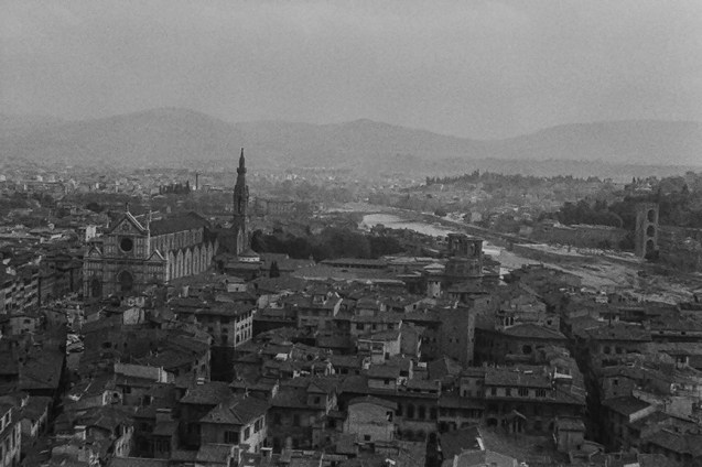 Florence - View - © R&R Meghiddo 1967 – All Rights Reserved