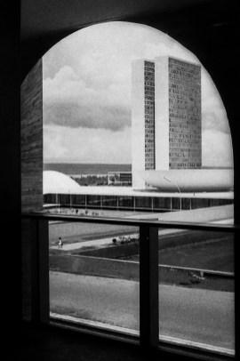 Brasilia - Square of Three Powers, 1960. Architect: Oscar Niemeyer - © R&R Meghiddo 1967 – All Rights Reserved
