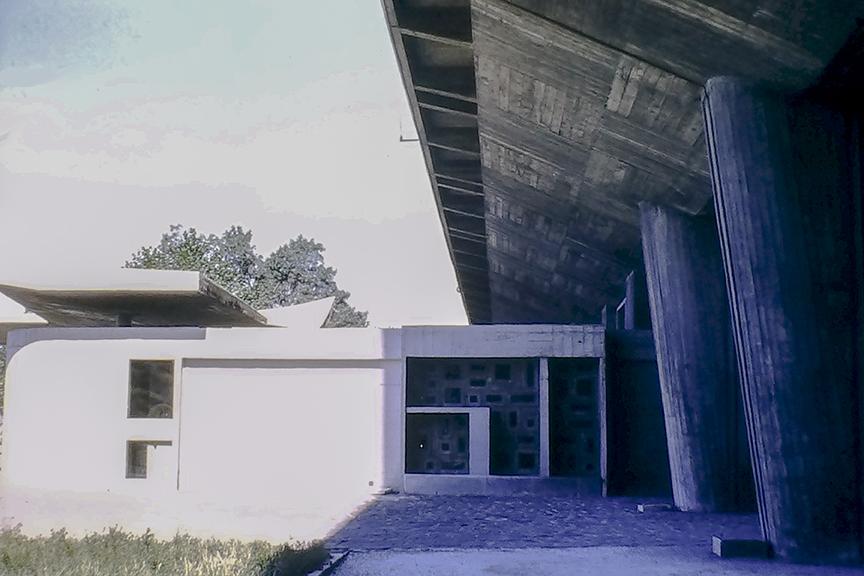 Marseille - Unité d'habitation, 1952. Architect: Le Corbusier - © R&R Meghiddo 1968 – All Rights Reserved