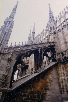 Milan Cathedral, 1386-1965- © R&R Meghiddo 1967 – All Rights Reserved