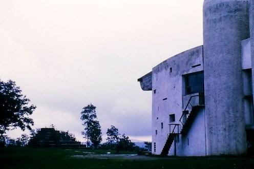 Ronchamp -Chapelle Notre-Dame du Haut, 1955. Architect: Le Corbusier - © R&R Meghiddo 1968 – All Rights