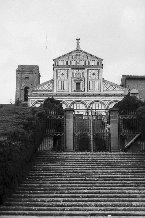 Florence - San Miniato al Monte, 1018-1387 - © R&R Meghiddo 1967 – All Rights Reserved