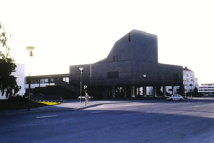 Seinäjoki - Aalto Center, 1960-68. Architect: Alvar Aalto - © R&R Meghiddo 1968 – All Rights