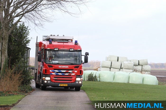 2014-01-08 Brand in mestkelder H Prinsenweg Vlagtwedde