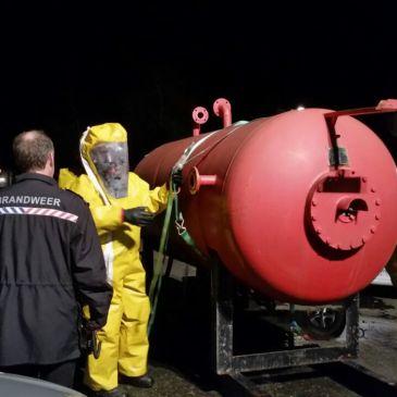 2014-11-06 Oefening ongeval gevaarlijke stoffen