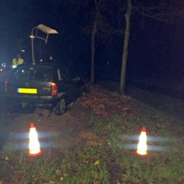 2011-12-07 ongeval Weenderstraat Jipsinghuizen ( terugweg stormschade )