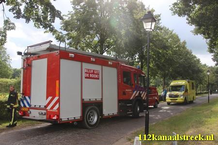 21-08-2016 persoon bekneld in wildrooster Bourtange