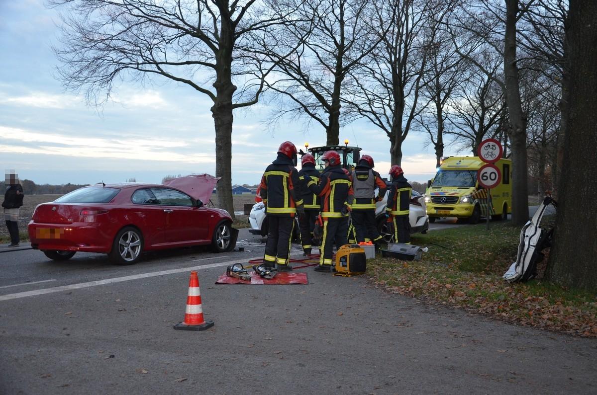 23-11-2017 Ongeval Wensenkampweg Vlagtwedde
