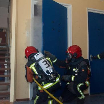 26-05-2018 Brandweerwedstrijden 1e gewestelijk HD Loppersum 10e plek