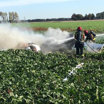13-10-2018 LVO crash Onstwedde