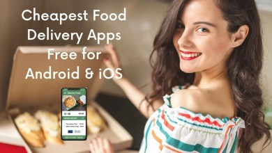 Best & Cheapest Food Delivery Apps Free for Android & iOS