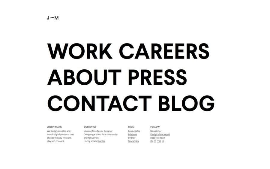 Josephmark - Awesome Websites powered by WordPress