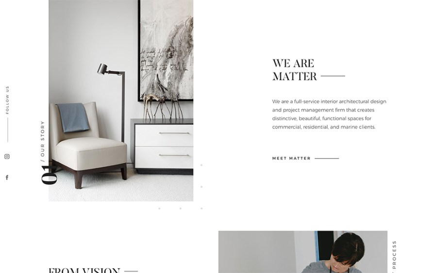 Matter Interiors - Awesome Websites powered by WordPress