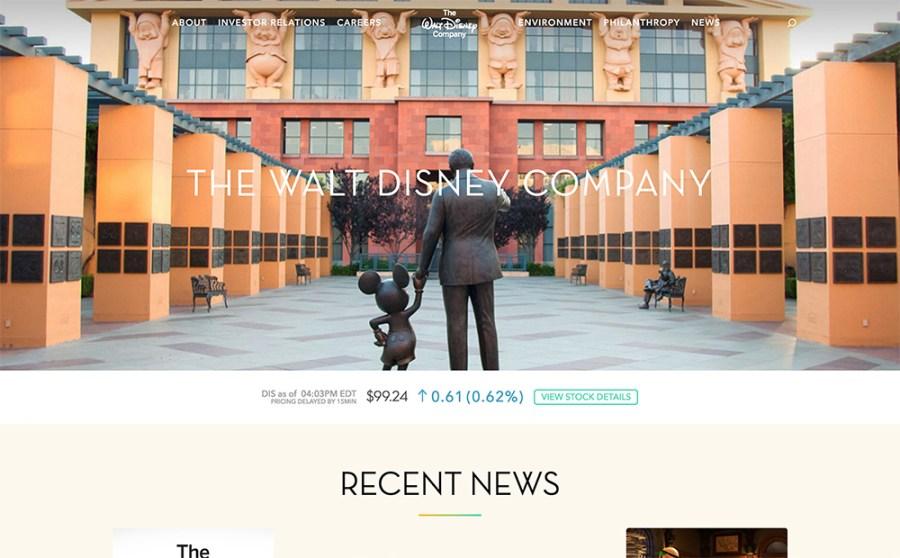 Walt Disney - Awesome Websites powered by WordPress