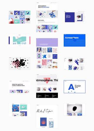 Atmosphere Best WordPress Portfolio Themes