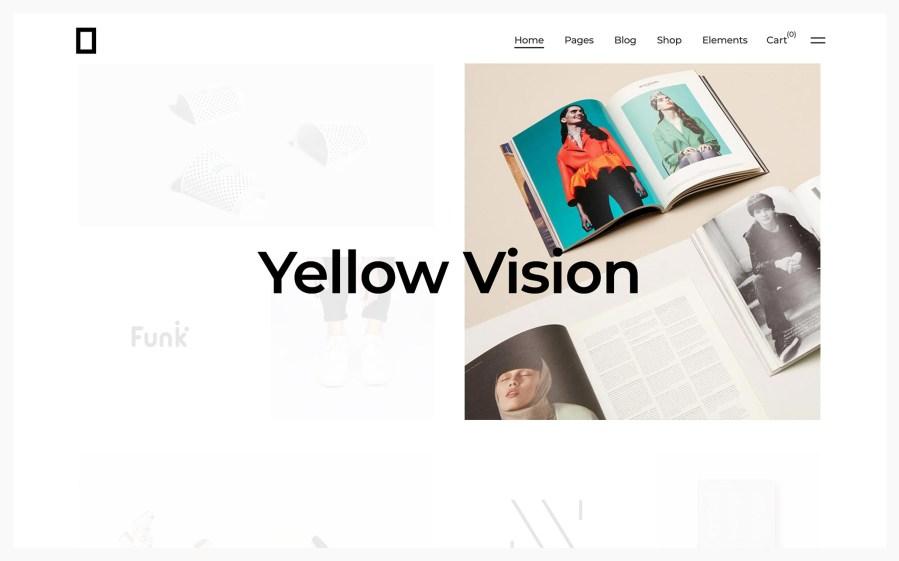 Okami WordPress Portfolio Theme