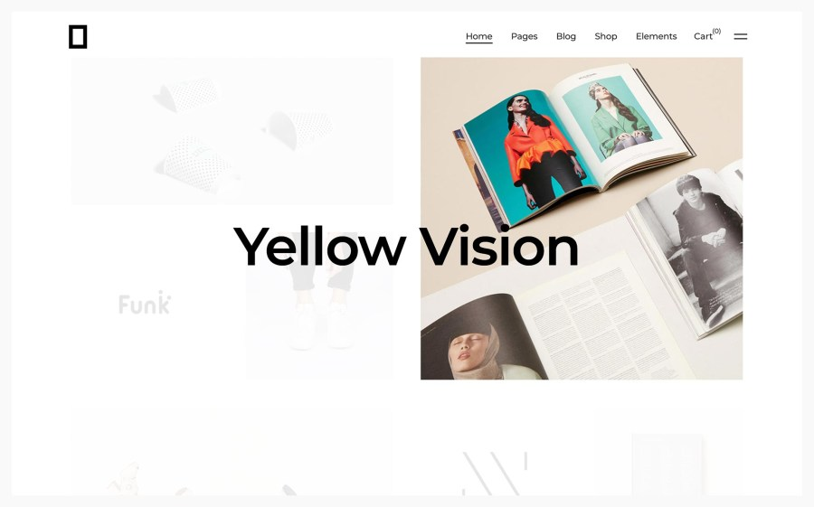 Okami Best WordPress Portfolio Themes