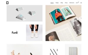 Okami Best WordPress Portfolio Themes