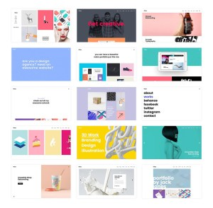 Ukiyo Best WordPress Portfolio Themes